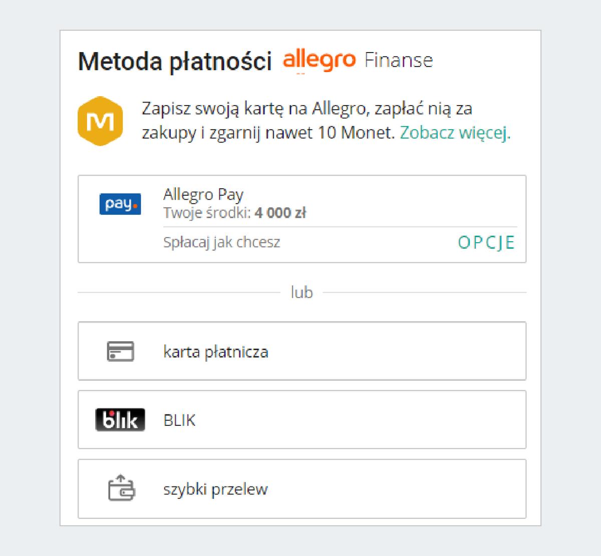 Metoda płatności