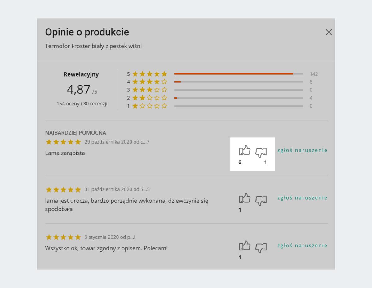 Gdzie Sprawdzic I Jak Dodac Opinie Dotyczaca Produktu Pomoc Allegro