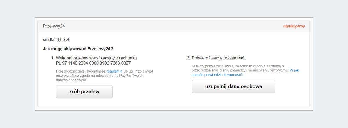 Jak Wlaczyc Usluge Przelewy24 W Allegro Finanse Pomoc Allegro