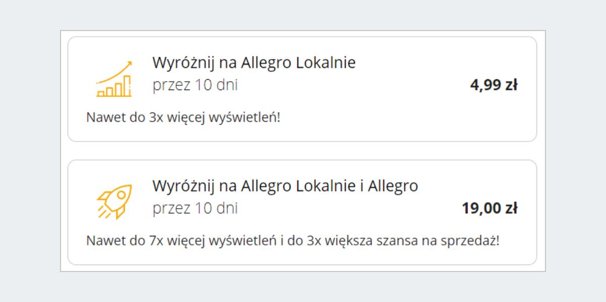 Jak Wystawic Ogloszenie Na Allegro Lokalnie Pomoc Allegro