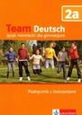 Team Deutsch 2a podręcznik z ćwiczeniami z płytą C