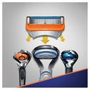 Gillette Fusion maszynka + ostrza wkłady 6 szt Liczba sztuk w opakowaniu 2 szt.