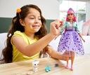 Barbie Przygody Księżniczek Daisy GML77 Materiał Plastik