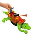 Fisher-Price Kroczący Krokodyl i Pirat Hak DHH63 Marka Imaginext