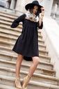 Sukienka Sugarfree oversize czarna rozmiar L Okazja na co dzień