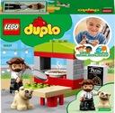 Lego Duplo Town Stoisko z pizzą 10927 Waga produktu z opakowaniem jednostkowym 0.254 kg