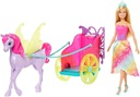 Barbie Dreamtopia Rydwan i pegaz księżniczka GJK53 Seria Dreamtopia