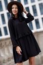 Sukienka Sugarfree oversize czarna rozmiar L Marka Sugarfree