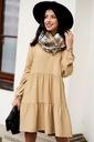Sukienka Sugarfree oversize beżowa rozmiar M Marka Sugarfree