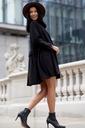 Sukienka Sugarfree oversize czarna rozmiar M Wzór dominujący bez wzoru