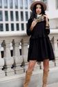 Sukienka Sugarfree oversize czarna rozmiar L Styl klasyczna