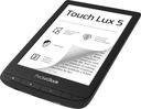 Czytnik PocketBook 628 Touch lux 5 czarny Kolor czarny