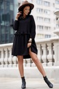 Sukienka Sugarfree oversize czarna rozmiar L Fason oversize