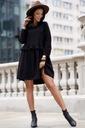 Sukienka Sugarfree oversize czarna rozmiar M Fason oversize