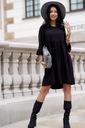 Sukienka Sugarfree oversize czarna rozmiar L Dekolt okrągły