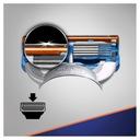 Gillette Fusion maszynka + ostrza wkłady 6 szt Przeznaczenie do maszynek Gillette Fusion5