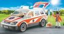 Playmobil City Life Samochód ratowniczy 70050 Liczba elementów 24 szt.