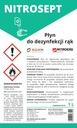 NITROSEPT 1L Płyn do dezynfekcji skóry Kod producenta WB-WE-NISEP95-OŚW-PL