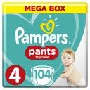 Zestaw 3 x Pieluchomajtki Pampers Mega Box Pants 4 Marka Pampers