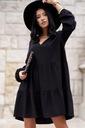 Sukienka Sugarfree oversize czarna rozmiar M Rozmiar M