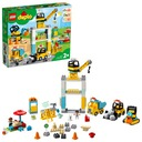 Lego Duplo Town Żuraw wieżowy i budowa 10933 Płeć Chłopcy Dziewczynki