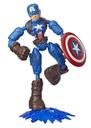 Hasbro Bend And Flex Avenger Kapitan Ameryka E7869