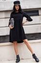Sukienka Sugarfree oversize czarna rozmiar L Kolor czarny
