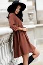 Sukienka Sugarfree oversize brązowa rozmiar M Rozmiar M