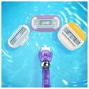 Maszynka do golenia Gillette Venus + 3 wkłady Kolor dominujący fioletowy