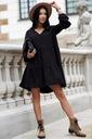Sukienka Sugarfree oversize czarna rozmiar M Szerokość pod pachami 51 cm