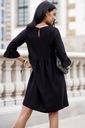 Sukienka Sugarfree oversize czarna rozmiar L Szerokość pod pachami 48 cm