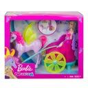 Barbie Dreamtopia Rydwan i pegaz księżniczka GJK53