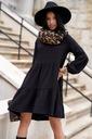 Sukienka Sugarfree oversize czarna rozmiar M Okazja na co dzień