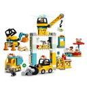Lego Duplo Town Żuraw wieżowy i budowa 10933 Wiek dziecka 2 lata +