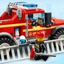 LEGO City Terenówka komendantki straży poż. 60231 Wiek dziecka 5 lat +