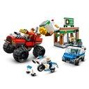 Lego City Napad z monster truckiem 60245 Płeć Chłopcy Dziewczynki