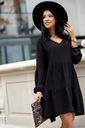 Sukienka Sugarfree oversize czarna rozmiar M Kolor czarny