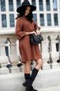 Sukienka Sugarfree oversize brązowa rozmiar M Marka Sugarfree