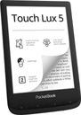 Czytnik PocketBook 628 Touch lux 5 czarny Rodzaj wyświetlacza E-Ink Carta
