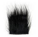 CRAFT FUR BLACK  czarne syntetyczne futerko
