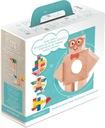 Klocki Magnetyczne Drewniane KOOGLO, basic color Płeć Chłopcy Dziewczynki