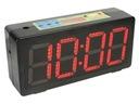 Zegar sportowy timer alarm duży wyświetlacz stoper