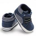 Buty na jesień wysokie trampki brązowe 20 12cm 6m Płeć Chłopcy Dziewczynki