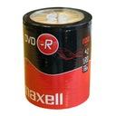 100szt Maxell 4,7GB DVD-R Wa-Wa FVAT PROMO!!