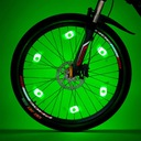 Lampka LED na szprychy nakładka rowerowa na koła Waga 0 g