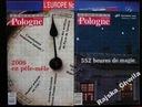 Les echos de Pologne 3gazety+3inne język francuski