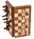 SQUARE  Szachy drewniane MAGNETYCZNE Basic - MOCNE