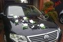 Dekoracja samochodu ślubne ozdoby na auto stroiki!