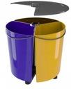 Kosz Pojemnik do Segregacji śmieci odpadów Waga (z opakowaniem) 2.6 kg