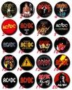 AC/DC - Przypinka, przypinki